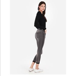Brand new express cropped jean leggings